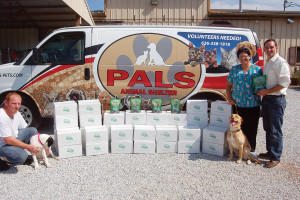 TropiClean Treats Local Shelters