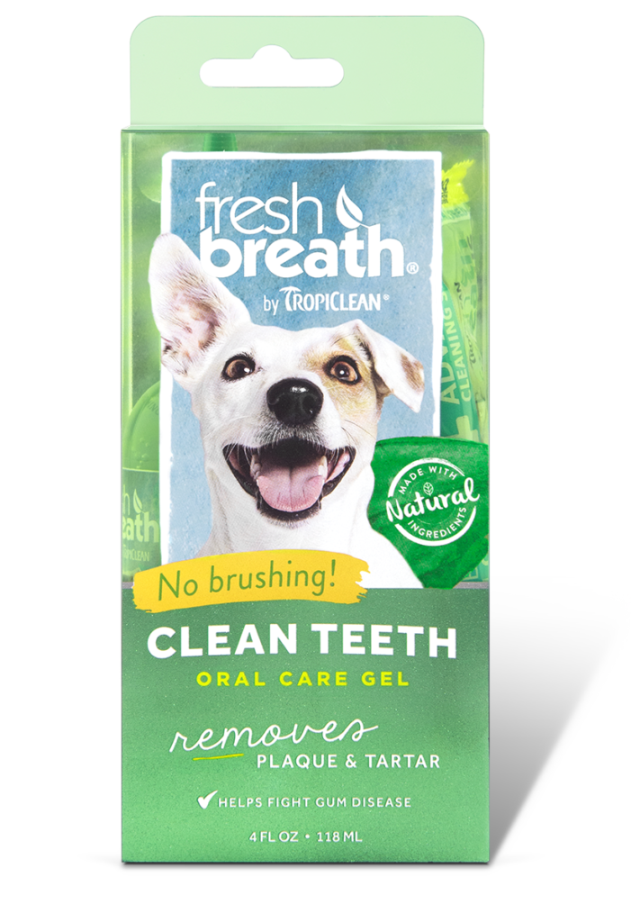 Fresh Breath by TropiClean: Oral Care Gel for Dogs